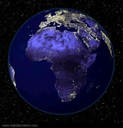 Earth At Night : Africa