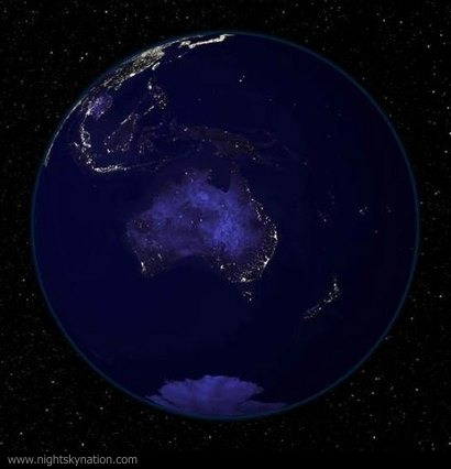 Earth At Night : Australia