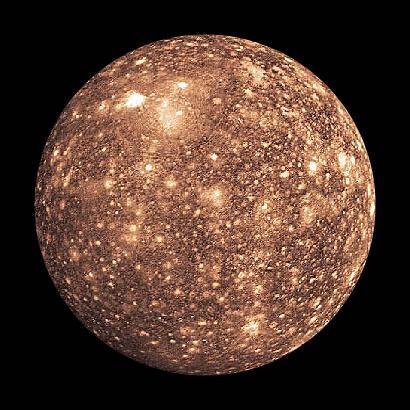 Moons : Callisto
