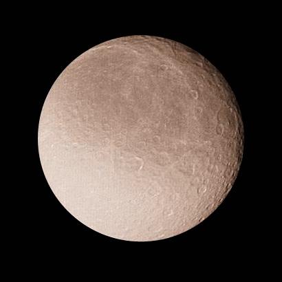 Moons : Rhea