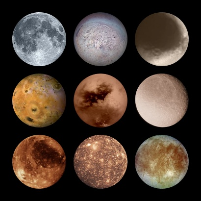in our solar system moons - photo #9