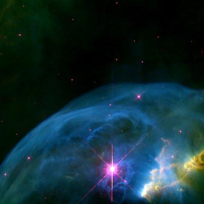 Nebulae : Bubble Nebula