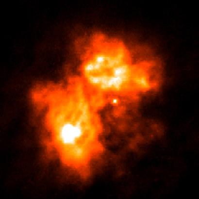 Nebulae : Papillon Nebula