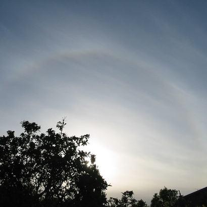 Phenomena : Solar Halo