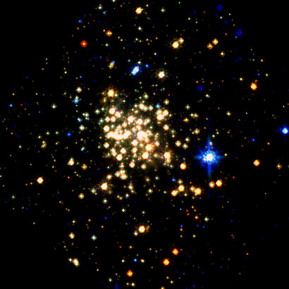 Stars : Arches Cluster